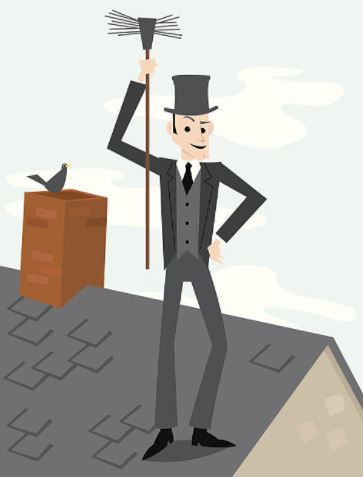 chimney sweep man